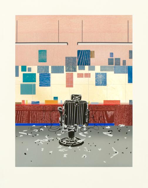 Hurvin Anderson, 'Barbershop Print, Lana Royal', 2010, New Gallery of Modern Art