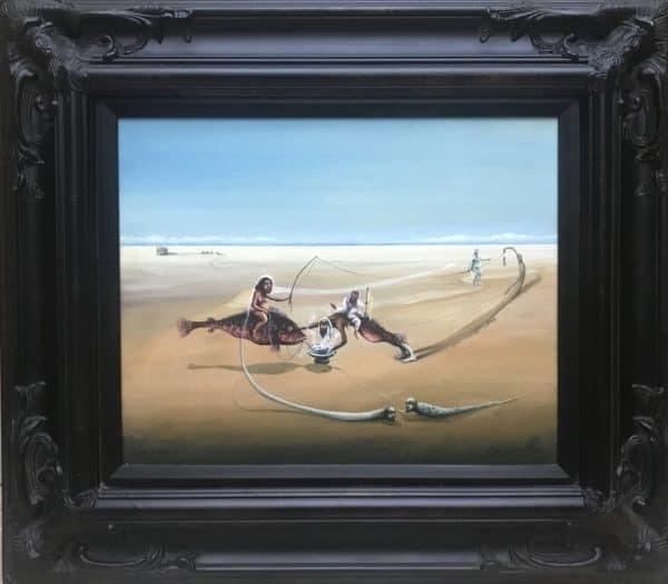 Williams Carmona, 'Untitled', 1990, Painting, Oil on canvas, puertoricoarte.com