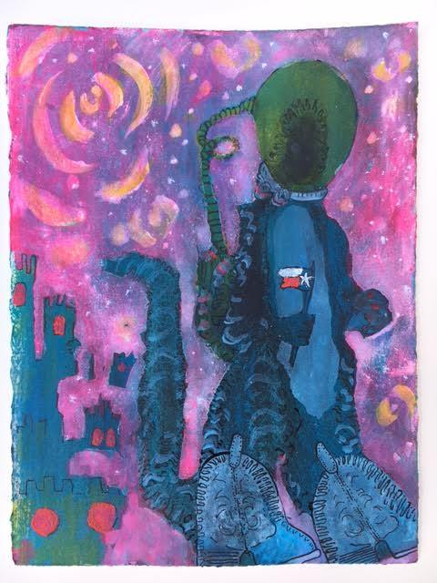 , 'Ancient Alien,' , Ro2 Art