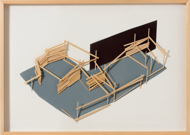 , 'Site Plan 2,' 1992, Art Front Gallery