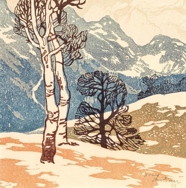 , 'Birches in the Mountains,' 1906, Galerie Kovacek & Zetter