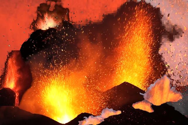 , 'Visual Orgasms 'Volcanoes',' 2015, Transfer Gallery