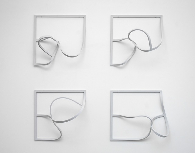 , 'Frames (Echoes) 5,' 1971-1974, Johannes Vogt Gallery