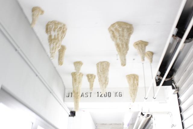 , 'Stalaktiten,' 2014-2016, Galerie Heike Strelow