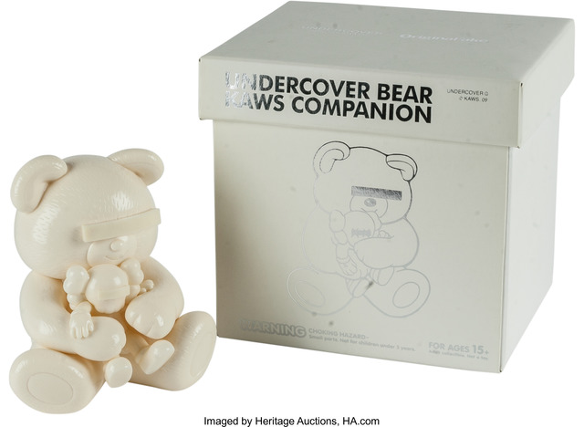 KAWS, 'Companion, Undercover Bear (White)', Other, Heritage Auctions
