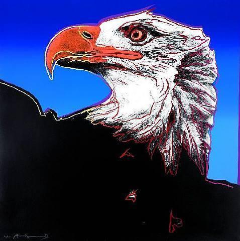 Andy Warhol, 'Bald Eagle (F&S.II.296)', 1983, Robin Rile Fine Art