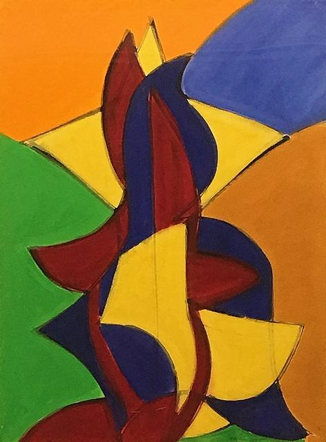 , 'Study for Goalie,' 2005, Lawrence Fine Art