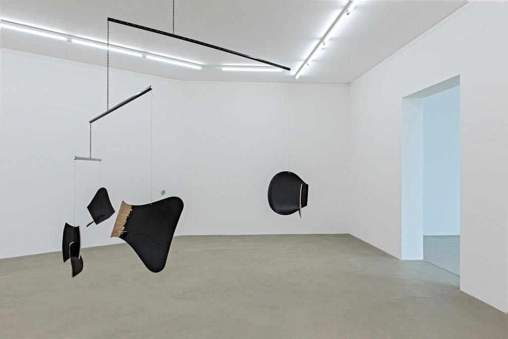 "Installation view of ""Martin Boyce"" at Kunstmuseum Basel, Basel (2015). Photo credit: Museum für Gegenwartskunst, Gina Folly"