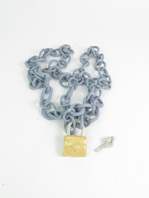 , 'Chain with Lock,' 2018, V1 Gallery