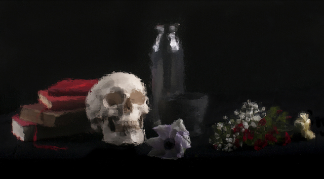 , 'Nature au crâne (Nature at the skull),' 2014, ACS GALLERY