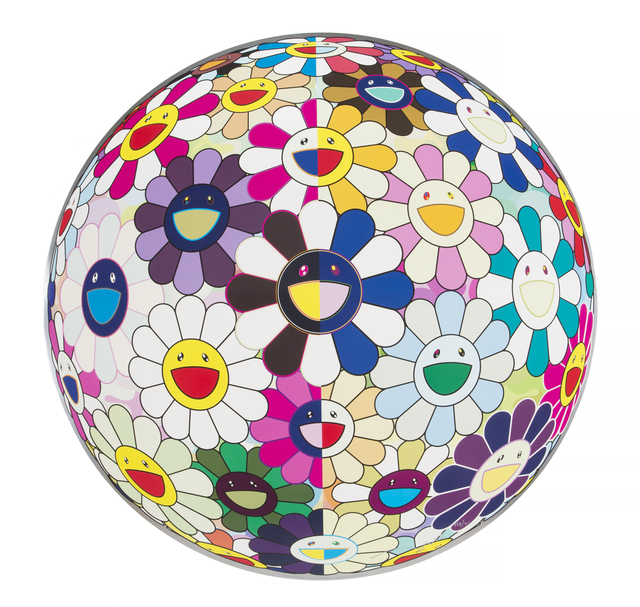 Takashi Murakami, 'Flowerball (3D) From the Realm of the Dead', 2009, Julien's Auctions
