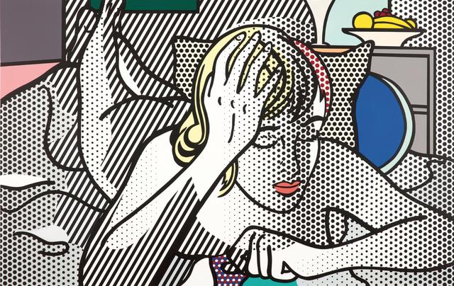 , 'Thinking Nude,' 1994, Waterhouse & Dodd
