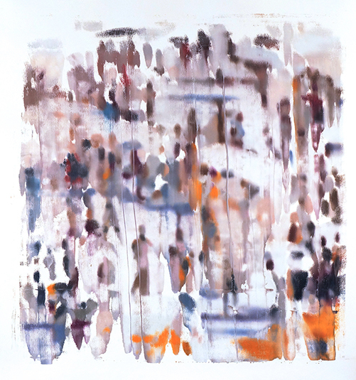 , 'Blurred Crowd #2,' 2017, Dolby Chadwick Gallery