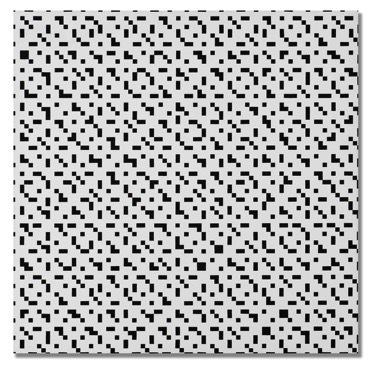 , 'Tous les 2-3-4-5 en diagonale,' 1974, Dan Galeria