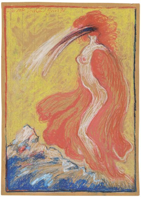 """, '""""Der rote Tod (II)"""" (Red Death (II)),' 1978, Galerie Bei Der Albertina Zetter"""