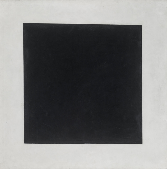 , 'Black Square,,' 1929, Fondation Beyeler