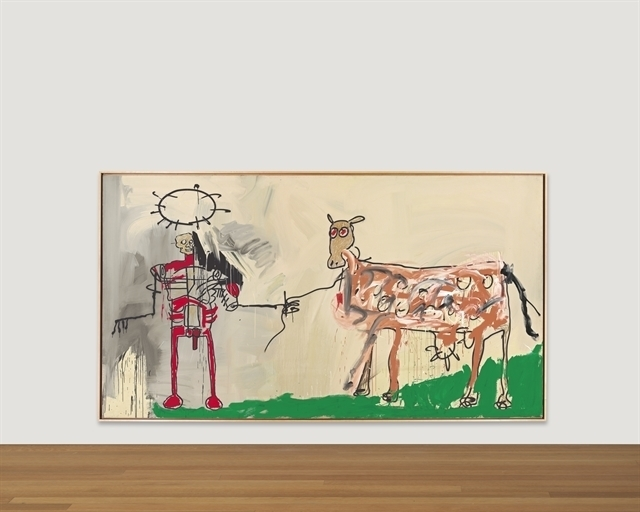 Jean-Michel Basquiat, 'The Field Next to the Other Road', Christie's