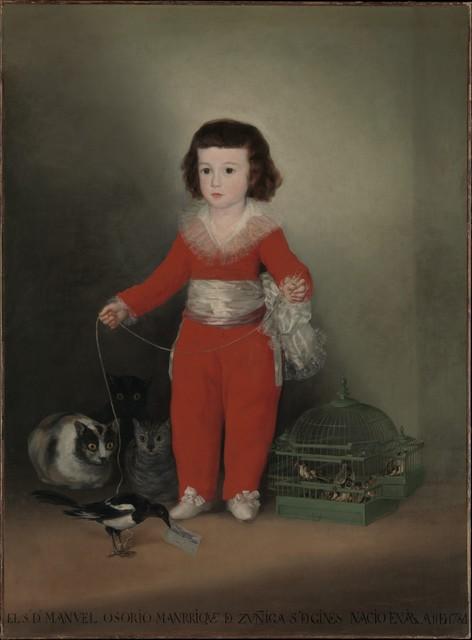 Francisco de Goya, 'Manuel Osorio Manrique de Zuñiga (1784–1792)', 1787–1788, The Metropolitan Museum of Art