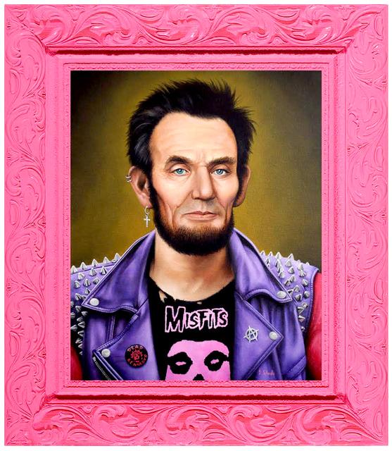 , 'Punk Rock Lincoln,' 2017, Spoke Art