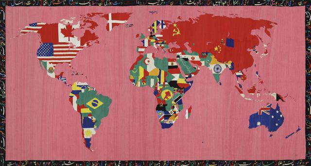 , 'Mappa,' 1990-1991, Tate Liverpool