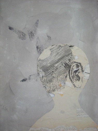 , 'Head with Beach,' 2009, Traywick Contemporary