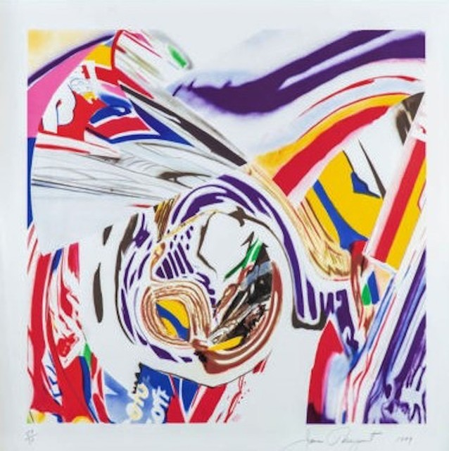 James Rosenquist, 'After Berlin V', 1998, Print, Ten-color original lithograph on Heavy White wove paper, michael lisi / contemporary art