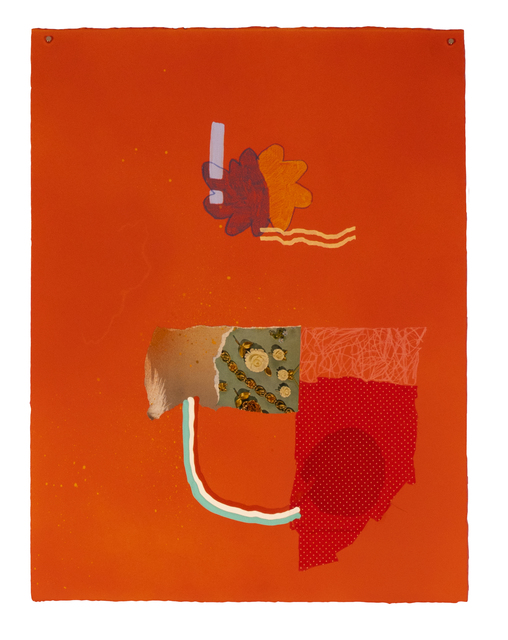 Jackie Riccio, 'Colgate + all the shiny things', 2020, Drawing, Collage or other Work on Paper, Spray paint, gouache, neopastel on paper, Richard Levy Gallery