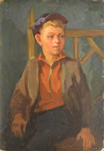 Nadezhda Eliseevna Chernikova, 'Shenka', 1956, Surikov Foundation