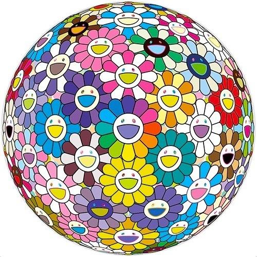 Takashi Murakami, 'Flower Ball: Multicolor', 2016, MSP Modern
