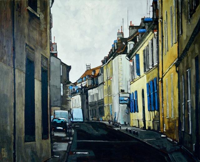 Stewart Jones, 'Dijon #9', 2017, Painting, Oil on canvas, Maison Depoivre