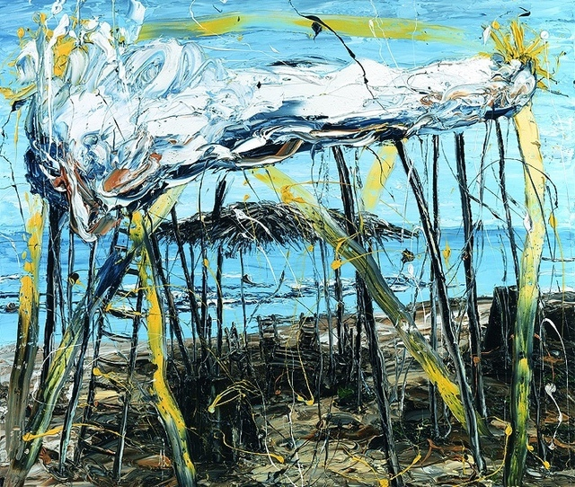 Achilleas Christides, '(SP) Contemplating by the sea', 2010, ARTION GALLERIES