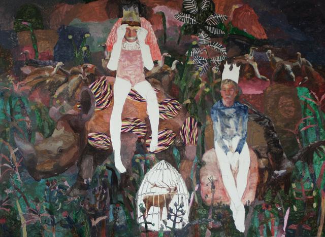 Mònica Subidé, 'Los hijos del rey bufón y sus buitres', 2018, Galeria Contrast