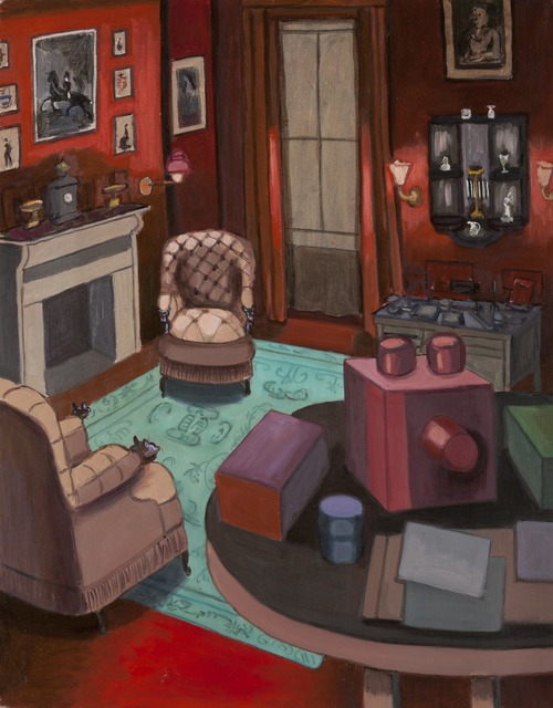 Hannah Barrett, 'The Red Study', 2011, Painting, Oil on linen, Childs Gallery