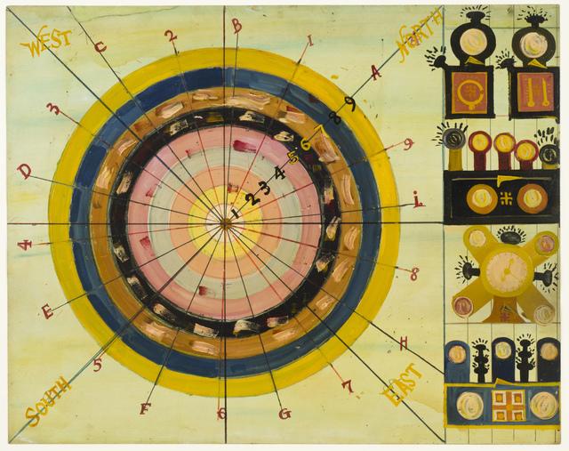 , 'Untitled (Target 1–9),' ca. 1950, Fleisher/Ollman