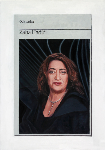 , 'Obituary: Zaha Hadid,' 2016, Charlie Smith London