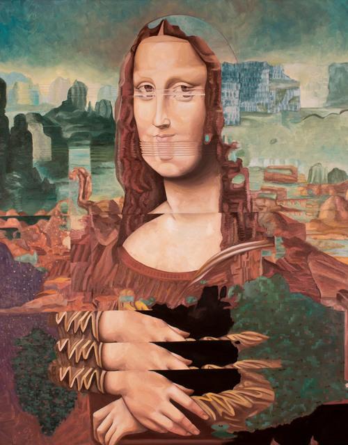 , 'Mona Glitcha,' 2017, N2 Galería