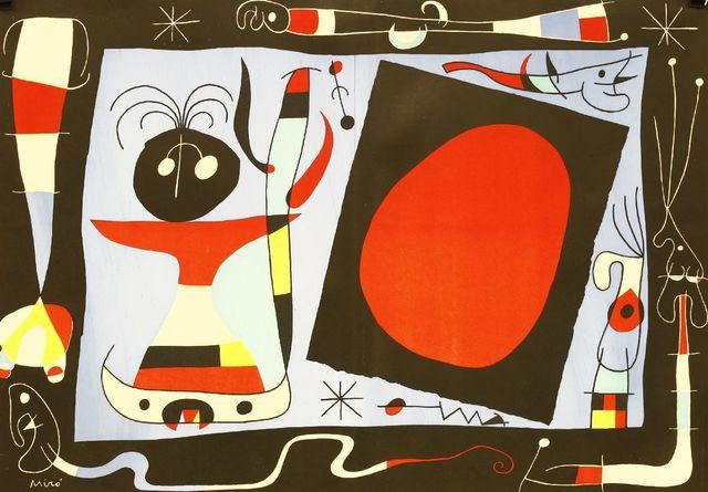 Joan Miró, 'Woman At The Mirror (Mourlot 174)', 1956, Sworders