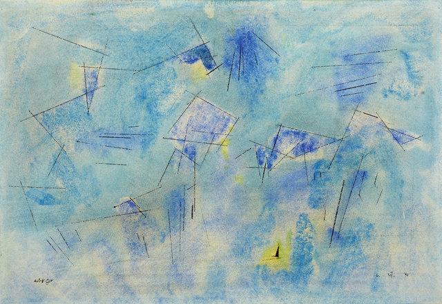 , '»Space«,' 1954, Ludorff