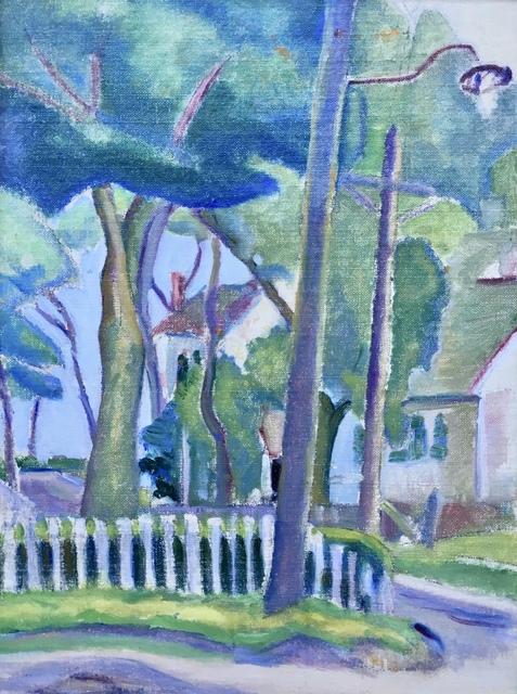 Jane Jarvis Mumford, 'Street Lamp', 1915, Bakker Gallery