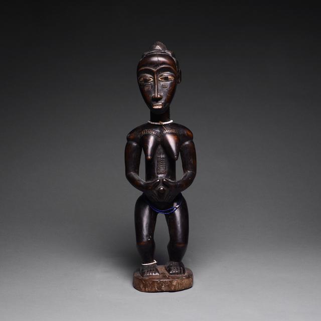Africa, Baule, 'Baule Standing Female Figure', ca. 20th Century, Barakat Gallery