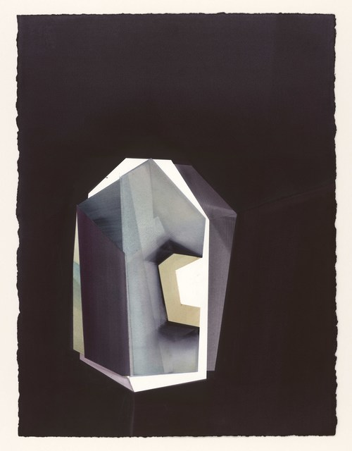 Sigrid Tanghe, 'After Stones 09.03.2020', 2020, Drawing, Collage or other Work on Paper, Watercolor on Winsor & Newton 640g/m2, Galerie Zwart Huis