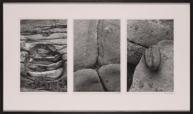Lucien Clergue, 'Triptych: Boulder Formations', Doyle