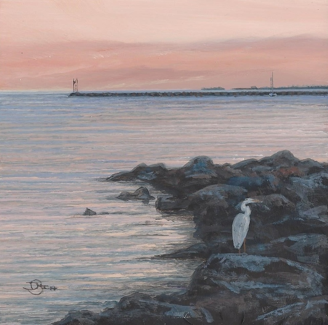 Del-Bouree Bach, 'At the Point ', ca. 2018, Copley Society of Art