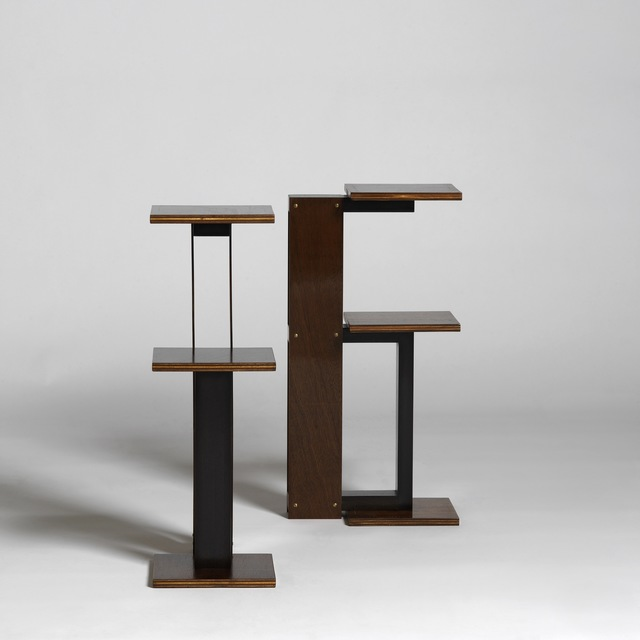 , 'Pair of side tables,' ca. 1936, Galerie Alain Marcelpoil