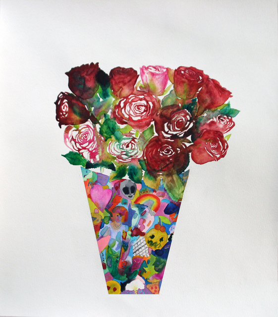 , 'Flowers To Make Up For Death (Roses),' 2015, Tappan
