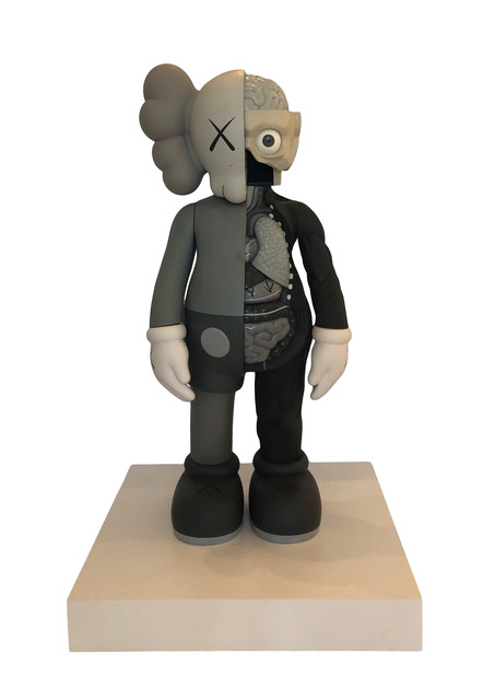 KAWS, 'Four-Footed Dissected Companion (Grey)', 2009, L&E Private Art Collection