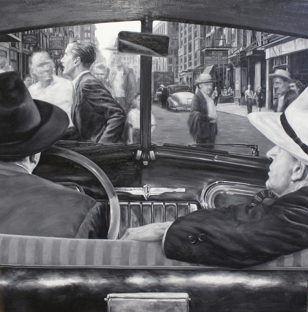 , '1942 Studebaker Commander Custom Land Cruiser (The Naked City),' 2012, Jonathan LeVine Projects
