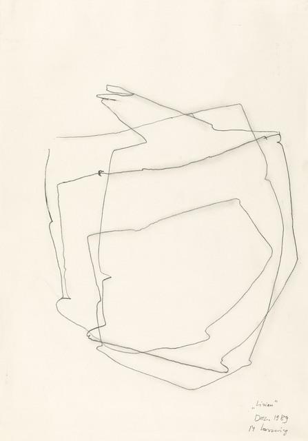 Maria Lassnig, 'Linien', 1989, Galerie Kovacek & Zetter