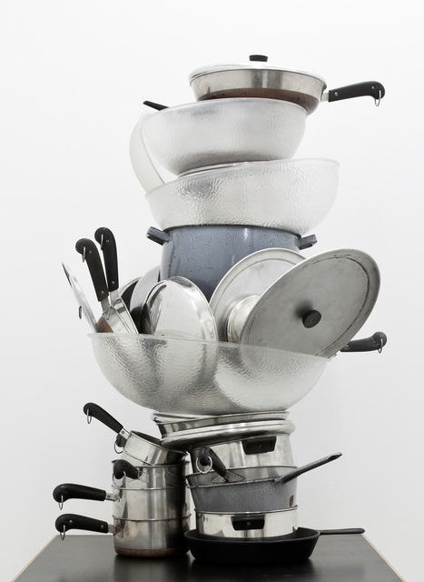 , 'No title (pots and pans),' 2011, Gagosian