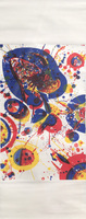 Sam Francis, Pasadena Box #10 (scroll)